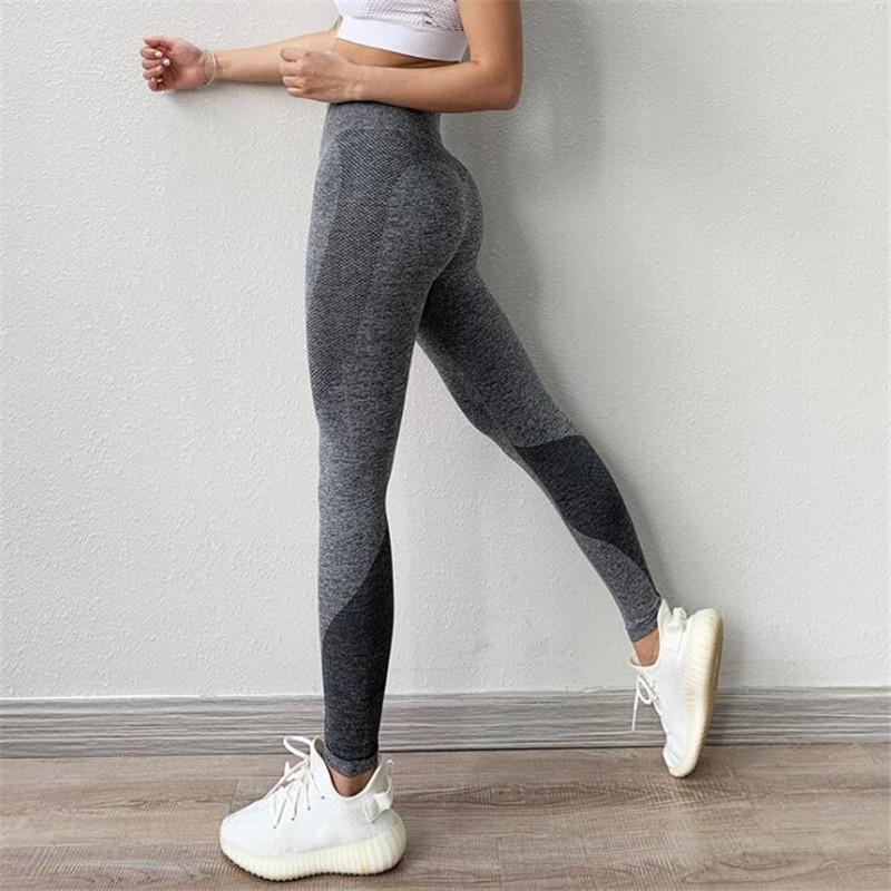 Seksi Yoga Pantolon Kadınlar Vital Dikişsiz Tayt Spor Kadın Spor Salonu Tozluklar Kadınlar Spor Tayt Egzersiz Yoga Ezme Tozluklar