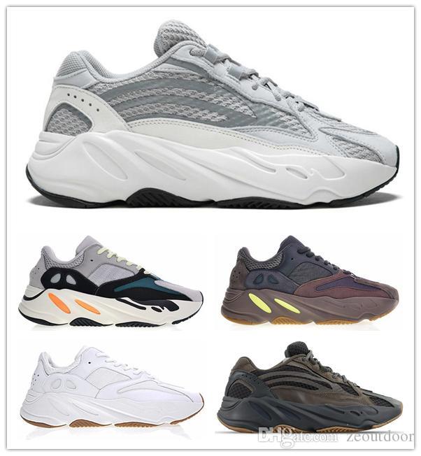 2019 Nuova scarpa firmata Static Kanye West V2 Scarpe da corsa classiche Wave Runner 700s Scarpe sportive Sneaker moda