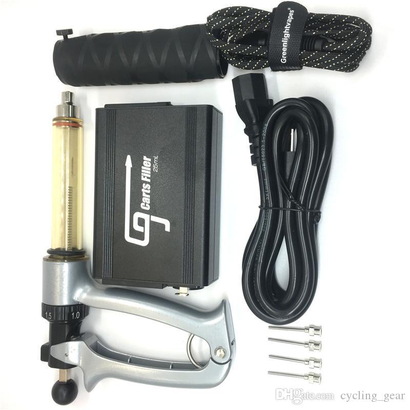 G9 semi-automatique Vape Chariots de remplissage 25ML Remplissage d'huile d'injection de la machine pour 0.5ML 0.8ml 1ML E Cigarettes Vape cartouches Pen