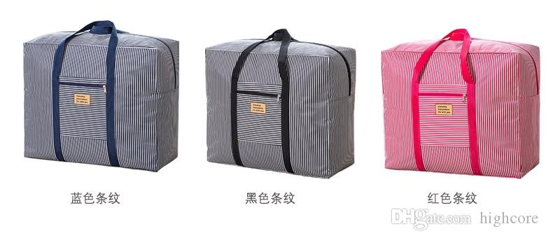 mezcle 9kinds bolsas de almacenamiento de bolsas Oxford Quilt a prueba de agua usadas en general