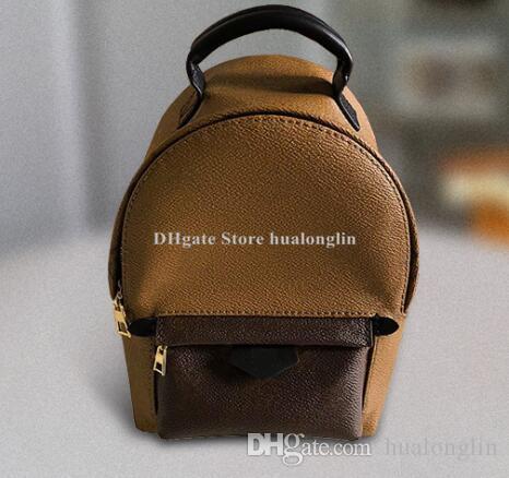 Kalite kız sırt çantası okul çantası kadın Deri Bayan çanta omuz çantası taşımak marka tasarımcısı