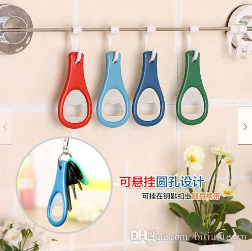New Plastic bottle opener Beer bottle opener Tennis racket Brewers Simple and practical Bottle opener T4H0350