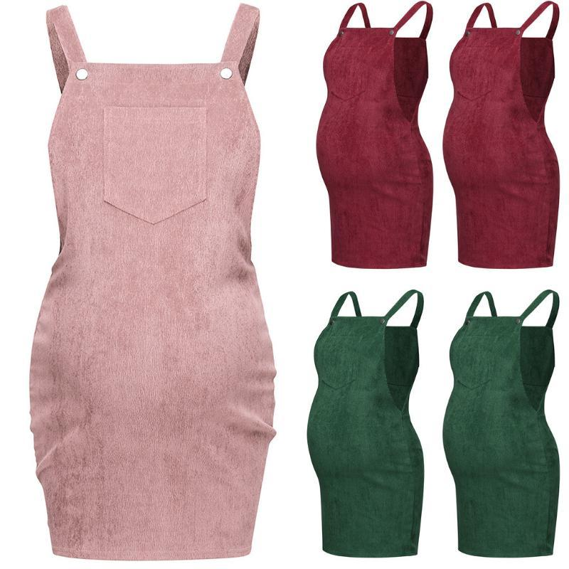 Sleeveless Maternity Dresses Mother pregnancy Dress Women Pregnant Maternity Nursing Solid Breastfeeding Skirt Sleeveless Dress