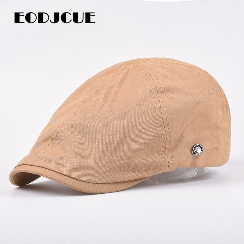 New Summer Outdoor Sports Cotton Berets Caps For Men Women Casual Peaked Caps Outdoor Sun Hats Casquette Cap