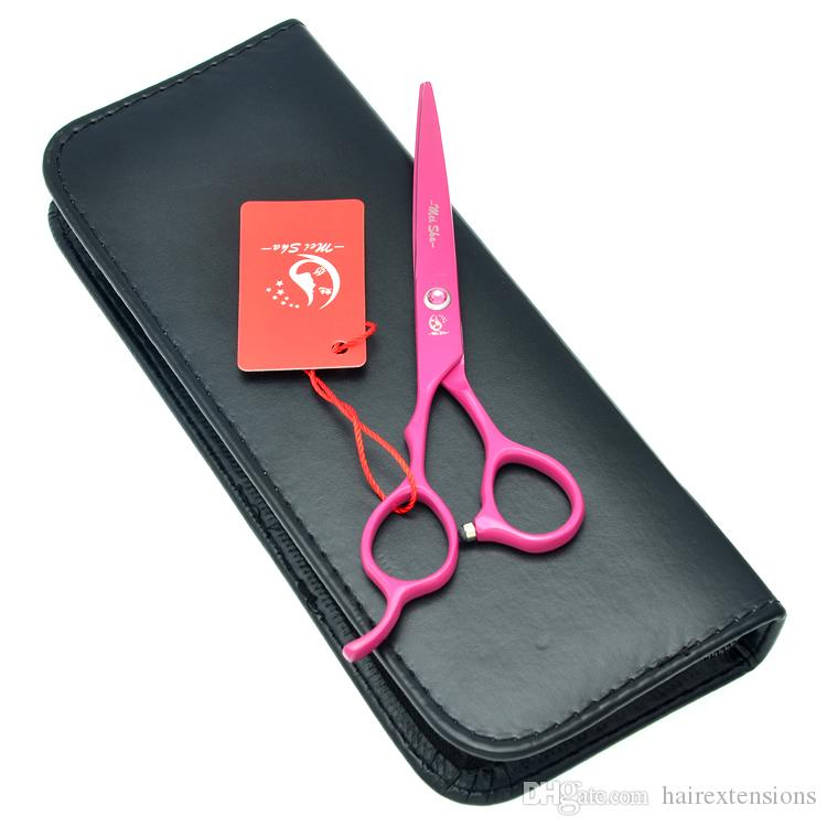 "Meisha 5.5"" 6.0"" Professional Left Handed Cutting Scissors Barber Hair Shears Japan 440C Hairstylist Thinning Tijeras Trimming Tools HA0132"