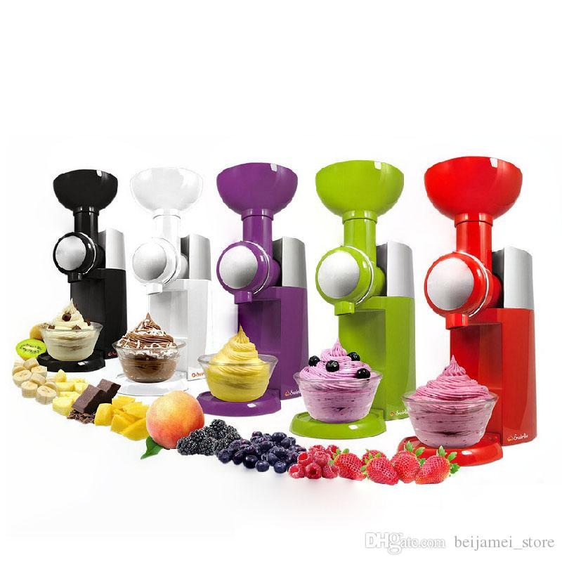 Beijamei 2018 новый электрический бытовой фруктовый мороженое машина DIY домашнее мороженое на продажу