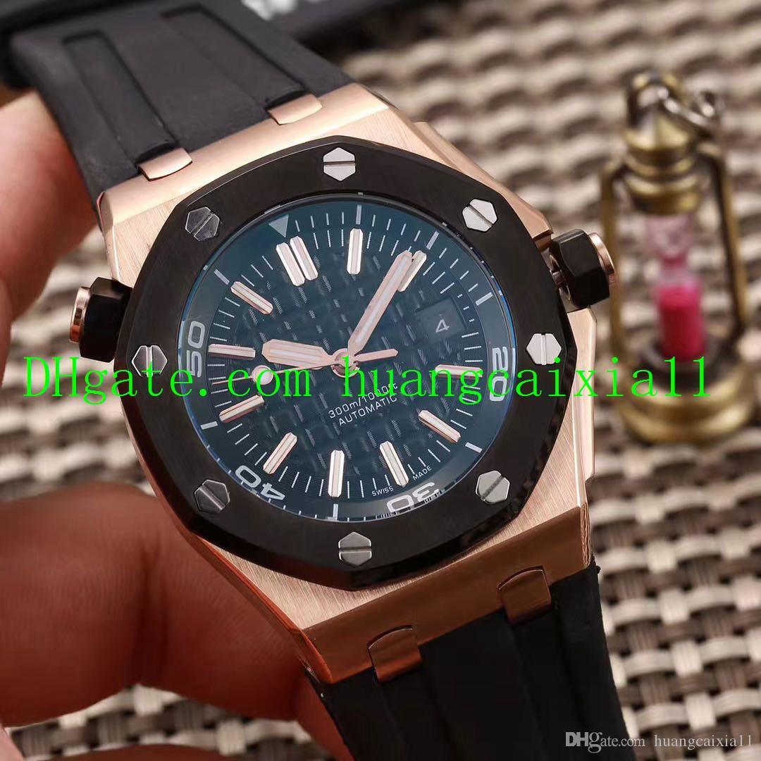 Le luxe des hommes montres multi-styles 26703 sport de luxe automatique bracelet en caoutchouc montre mécanique montre étanche 316 Boîtier en acier inoxydable 44mm