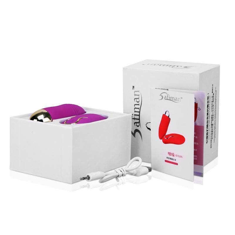 Rechargeable sans fil G-Spot oeuf USB Saut Vibrant Femmes distantes 10 vitesses Massage étanche S627 Masburage Bullet Vibromator Contrôle Aodkh