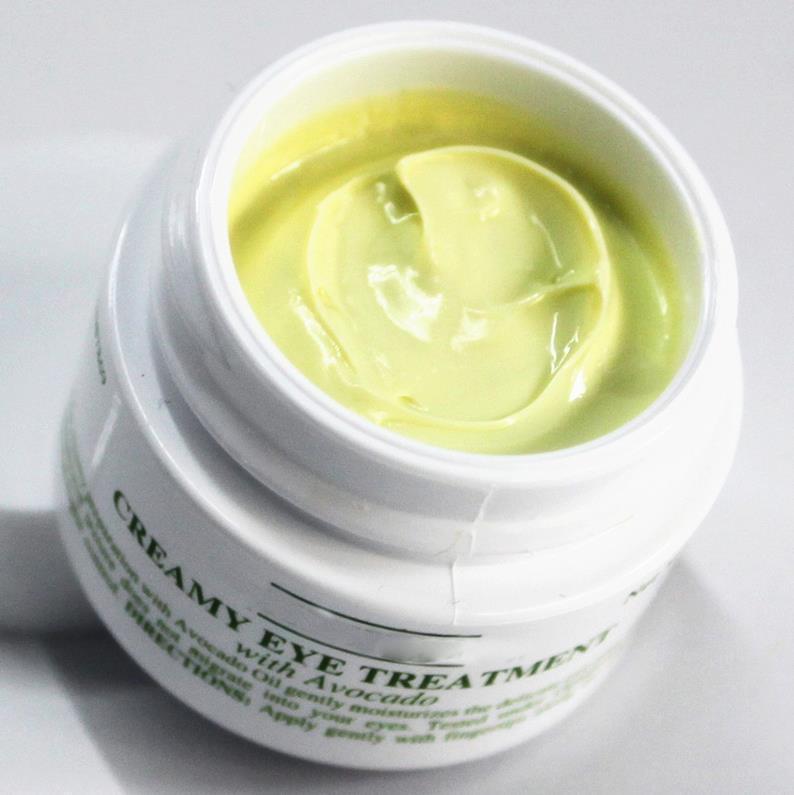 Il più nuovo trattamento cremoso dell'occhio con avocado 14g rifornimento idratante profondo rifornimento sbiadisce cerchi scuri occhio crema pelle crema per la cura della pelle