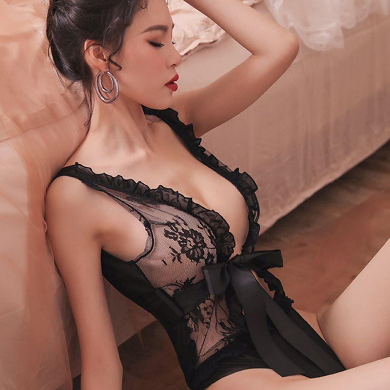 Femme lingeries dentelle luxe Pyjama Lingerie Femmes Sous Bodysuit Vêtements de nuit de luxe Intimo Donna Bodysuit gratuite DHL