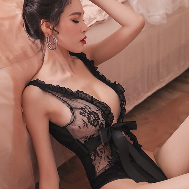 Donna Intimo Pizzo di lusso della biancheria dei pigiami Body Femmes Sous Vêtements Pigiami di lusso Intimo Donna Body DHL libero