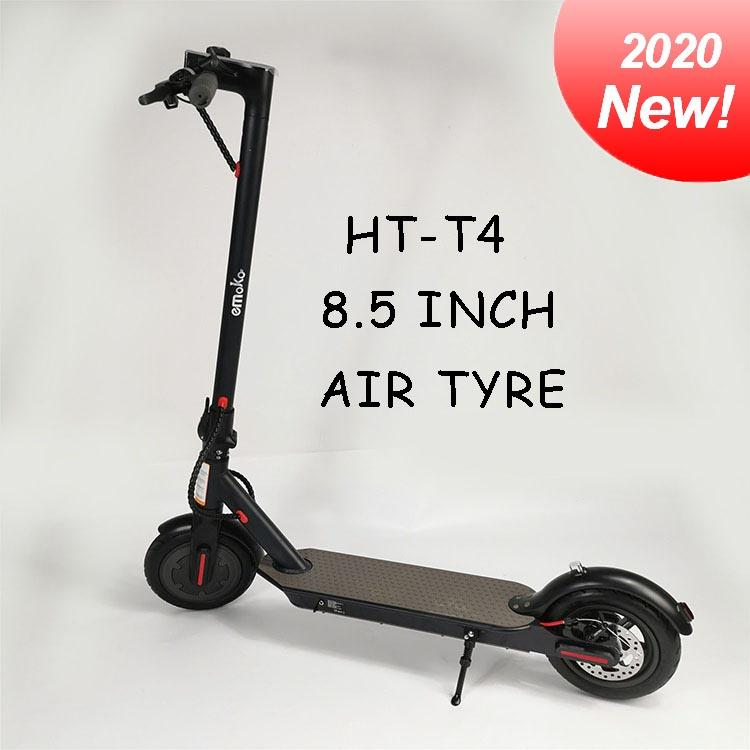 Poland Warehouse Shipping 8.5 inch Aluminum alloy air tyre electric scooter 36V 350w motor 6.6Ah Batter adult scooters Hot sell