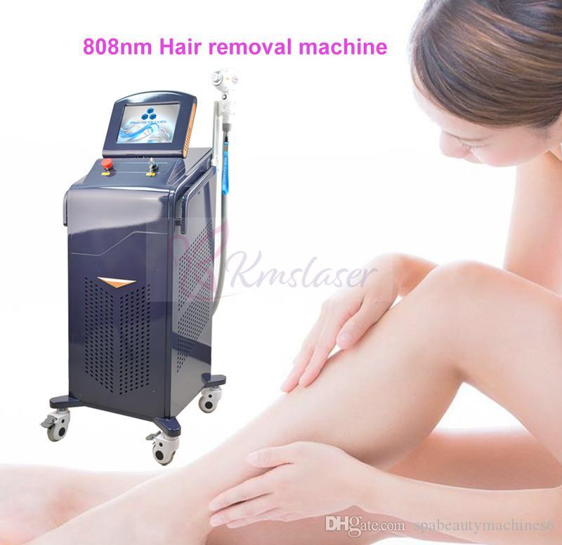 Постоянное удаление волос классический и более дешевый портативный диод Лазерная эпиляция 808nm машина DHL бесплатная доставка
