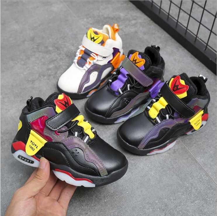niño unisex del niño de los niños ENTRENADORES transpirables zapatos lindo otoño del resorte de los niños Calzado para el regalo de la nueva llegada