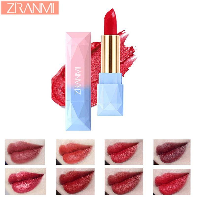 Multi Colors Lipstick Lip Gloss Women Easy To Wear Cute Professional Fashion Long Lasting