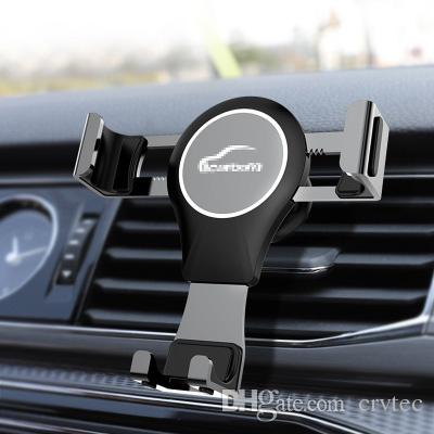Universal mobile car holder automatic for phone car bracket air vent for iphone 5s 6s 7plus X huawei