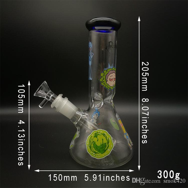 2019 novo estilo de vidro tubos de água Bong hookah copo de vidro bongs tubulação de água bong bong de vidro fumar