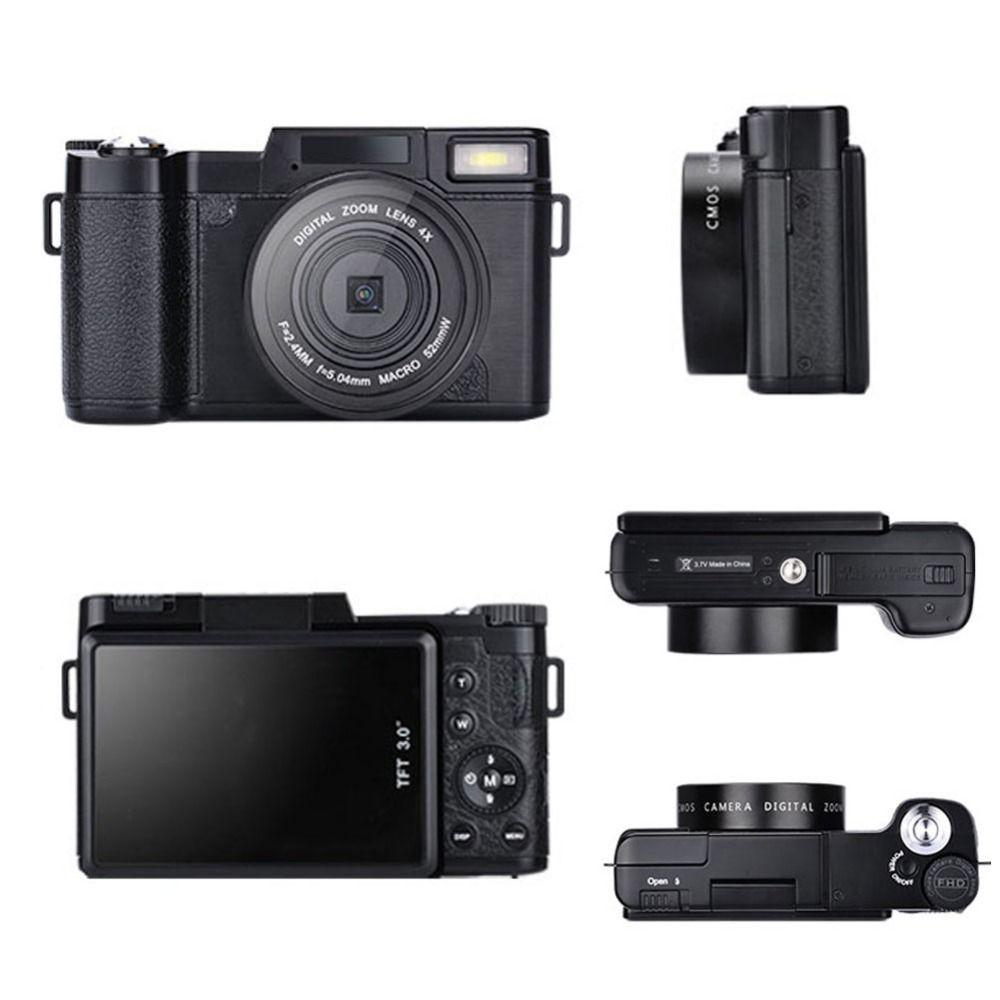 Yüksek Kalite Max 24mp Dijital Kamera Full Hd 1080p Kompakt Kamera