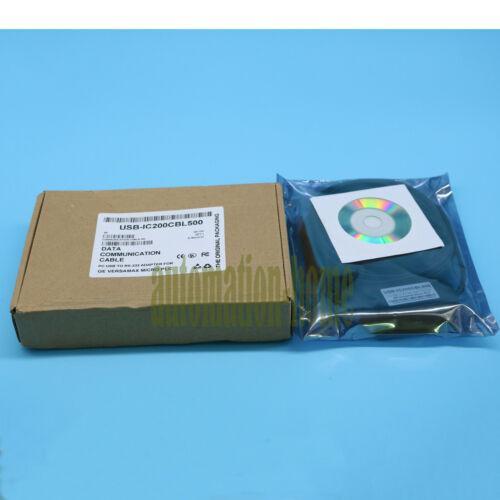 1PC НОВИНКА USB GE VersaMax Nano / Micro PLC Кабель для программирования IC200CBL500 # XR