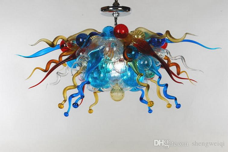 decorative light switches.htm beautiful colored hand blown glass chandelier light modern ceiling  beautiful colored hand blown glass