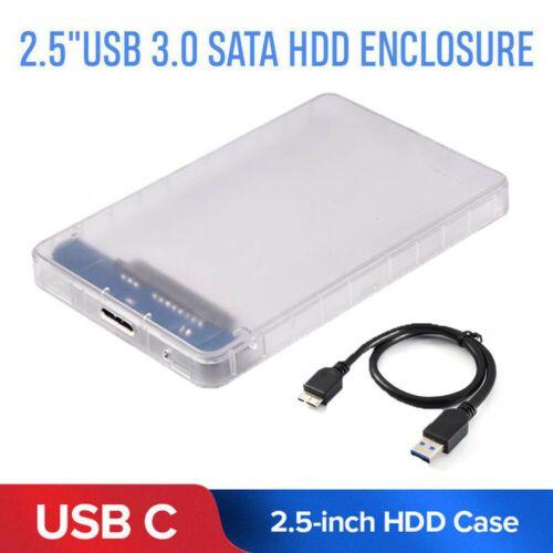 USB 3.0 SATA 2,5 pouces Disque dur externe Boîtier HDD Mobile Disk Box Case pour PC portable