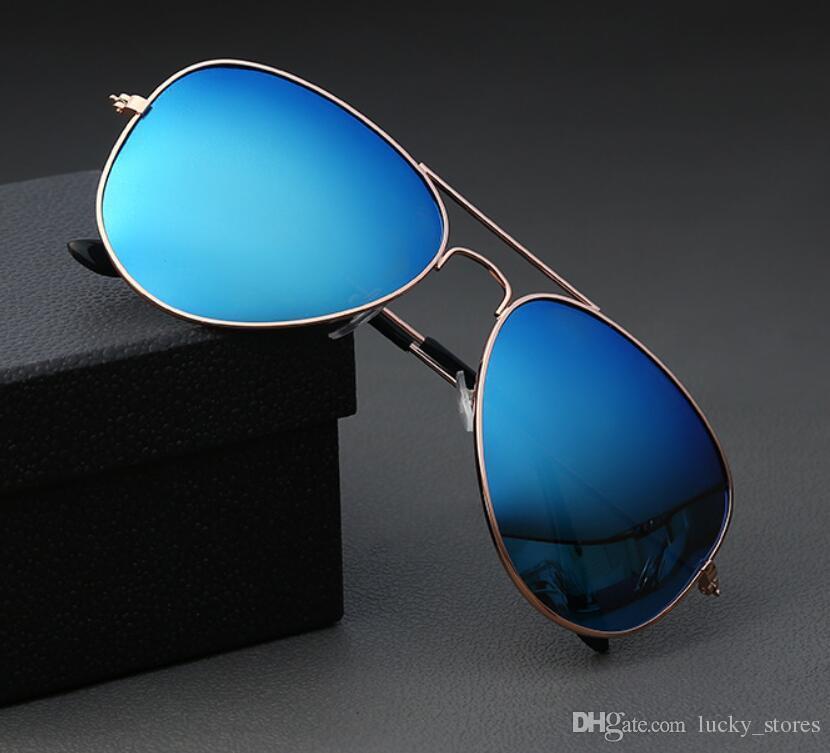 Moda Pilotos 62mm Homens Mulheres Classic Sunglasses Designer Polaroid Vintage dirigindo óculos de sol com casos de alta qualidade