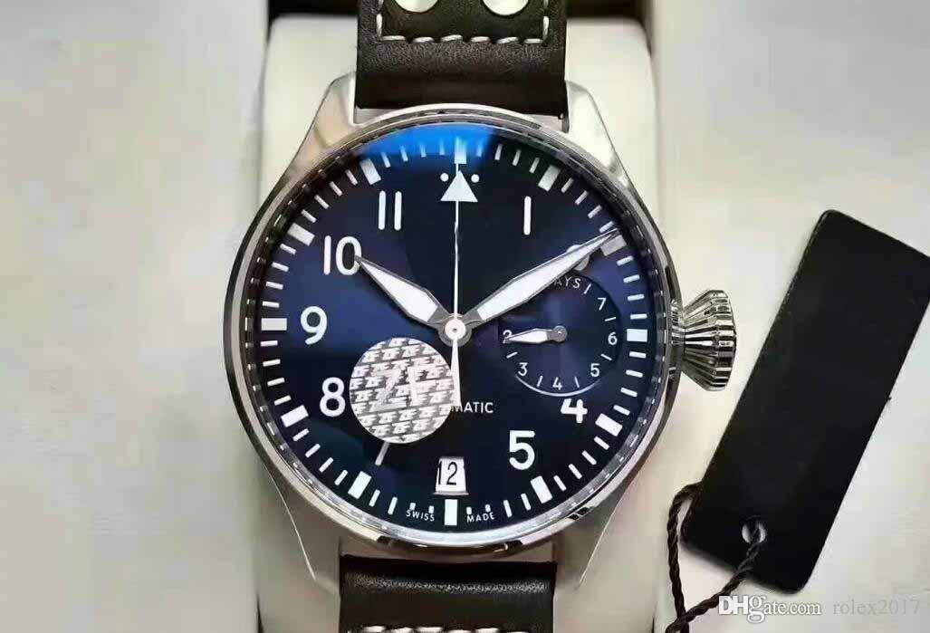 Роскошные мужские высокого качества Superlative ETA 46мм Самолет 904L из нержавеющей стали Браслет Swiss Movement Автоматические мужские часы CAL.5111 2020