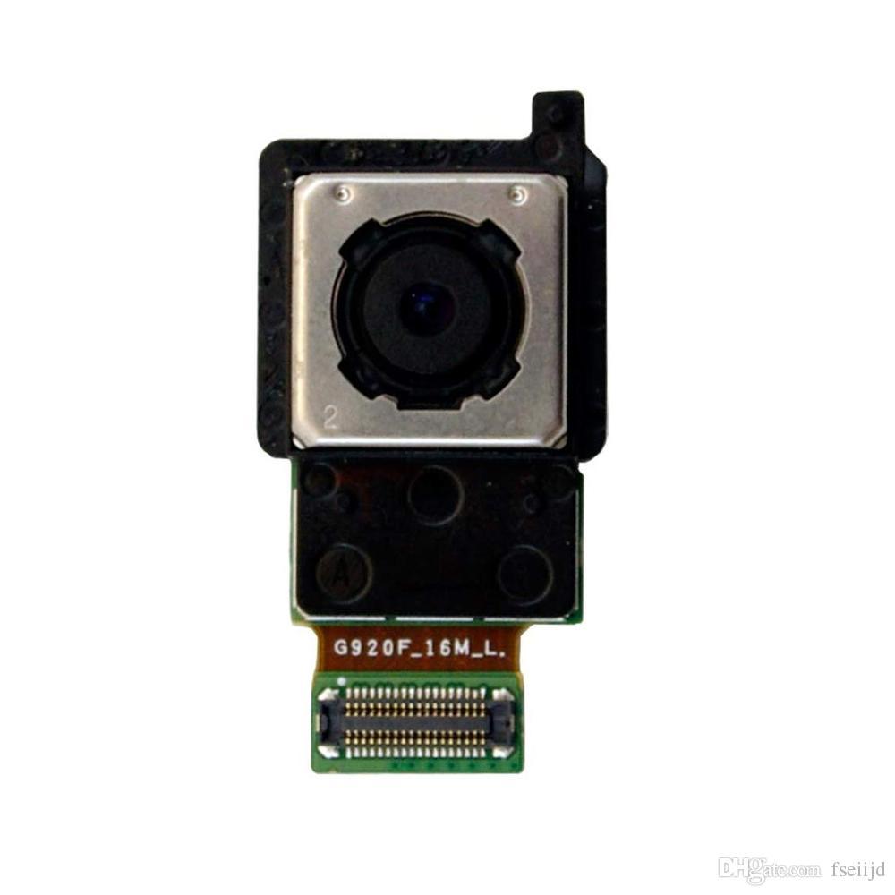 10pcs OEM Per Modulo galassia S6 G920F S6 bordo G925F principale posteriore Back Camera Flex Cable