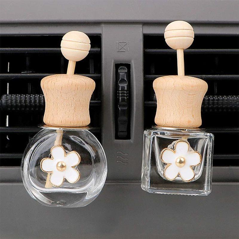 Désodorisant parfum bouteille vide d'air automatique Vent parfum Clip de parfum pour l'huile Diffuseur Accessoires kit voiture cadeau
