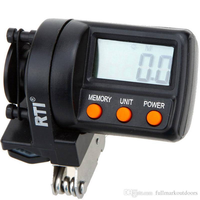 ABS Night Linha De Pesca Contador Eletrônico 0-999M Digital Display Medidor de Profundidade Pesca Carpa Artes de Pesca Ferramentas