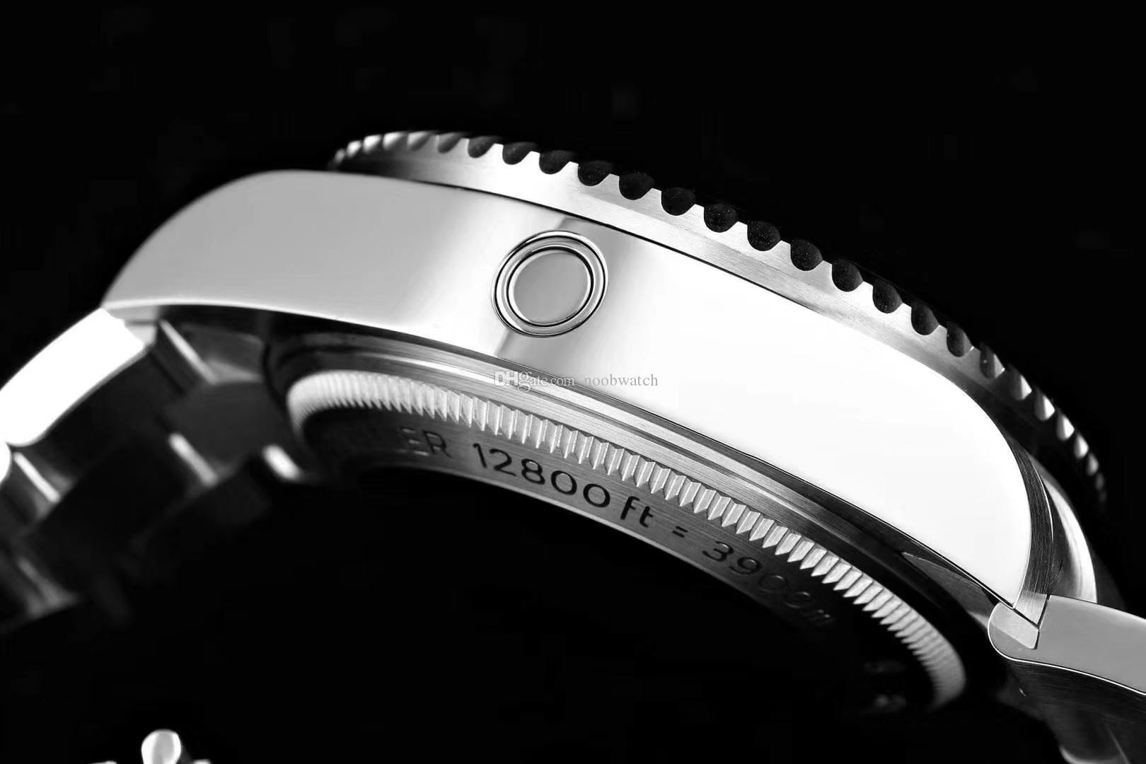 vetro zaffiro in acciaio 44 millimetri 904L uomo Orologi uomini orologio automatico da polso 3235 movimento orologio di lusso profondo 126660 mare D-BLU
