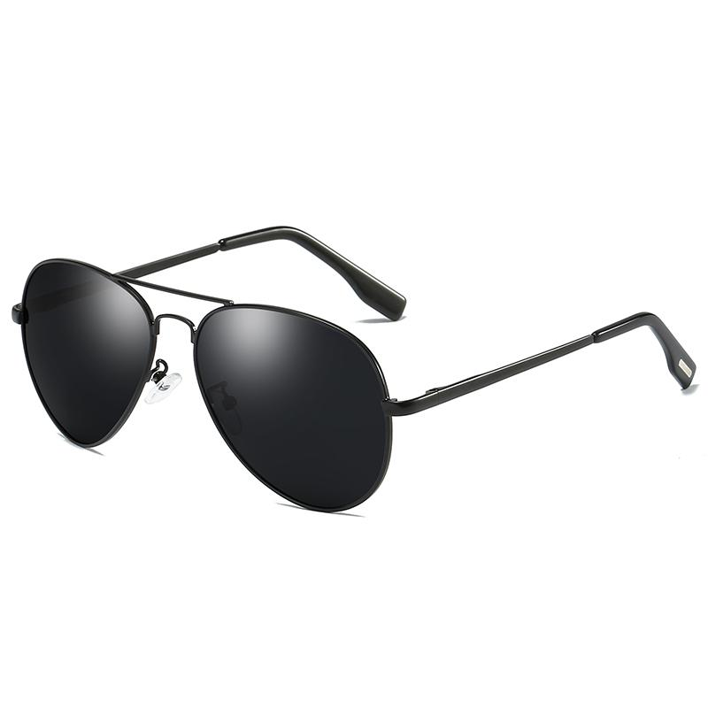 Men's Designer Designer Business Lunettes de soleil Polarisée Lunettes de soleil Polarisée America et Free Europe Retro Driver Sunglasses Sunglasses Me GTXA