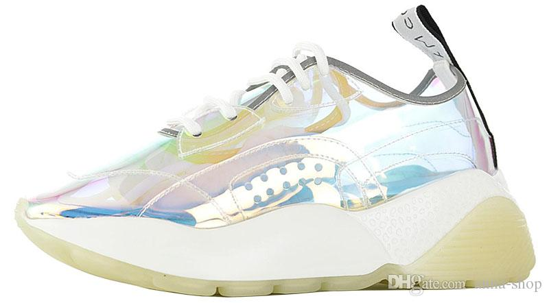 2020 Brand Womens Stella Mccartney Eclypse Sneakers For Womens Platform Shoes Women Designer Luxury Sport Shoe Female Luxe Sneaker Girls Trainer From Anna Shop 66 73 Dhgate Com
