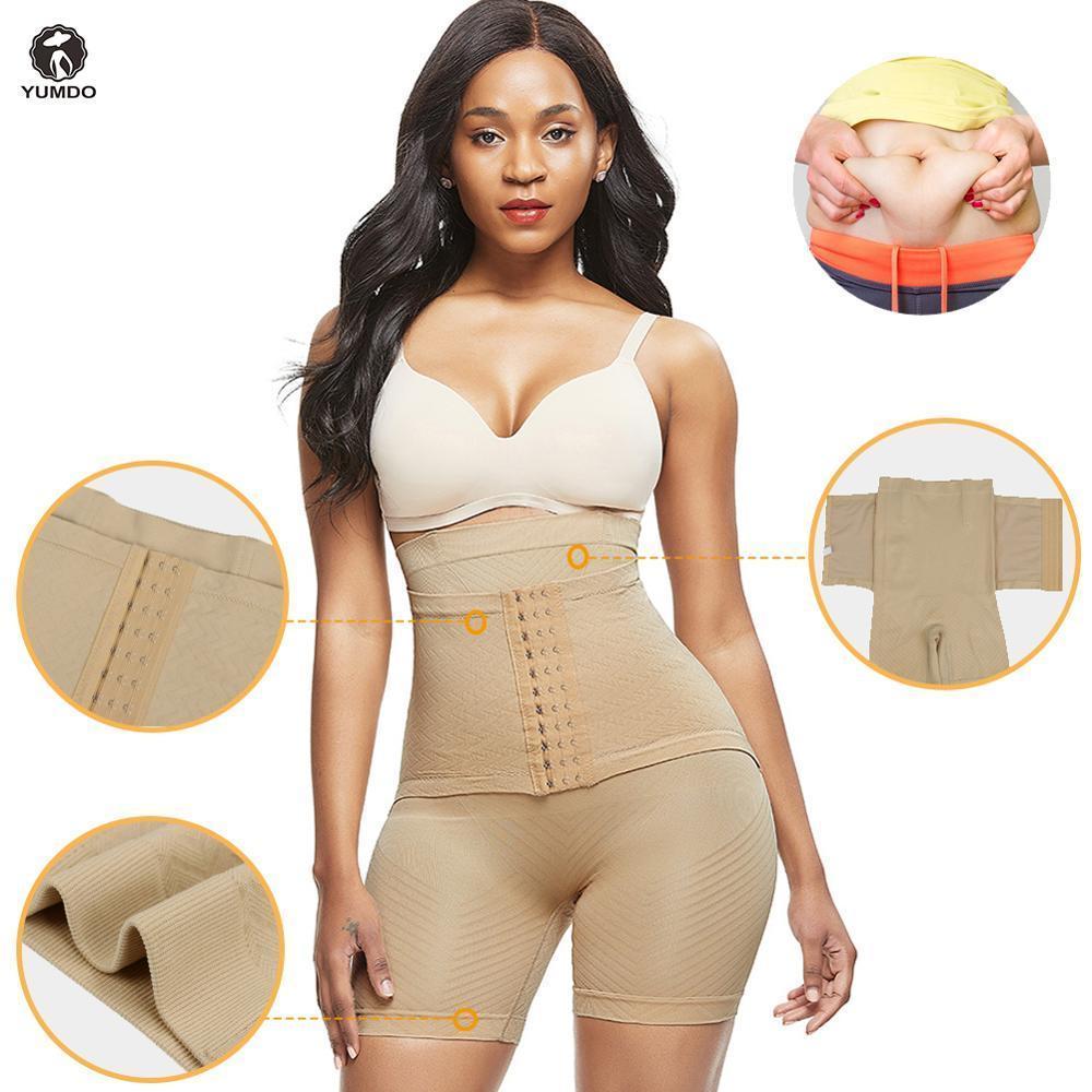 Women Sliming Body Shaper Seamless Mesh Pants Shapewear High Waist Cincher Brief