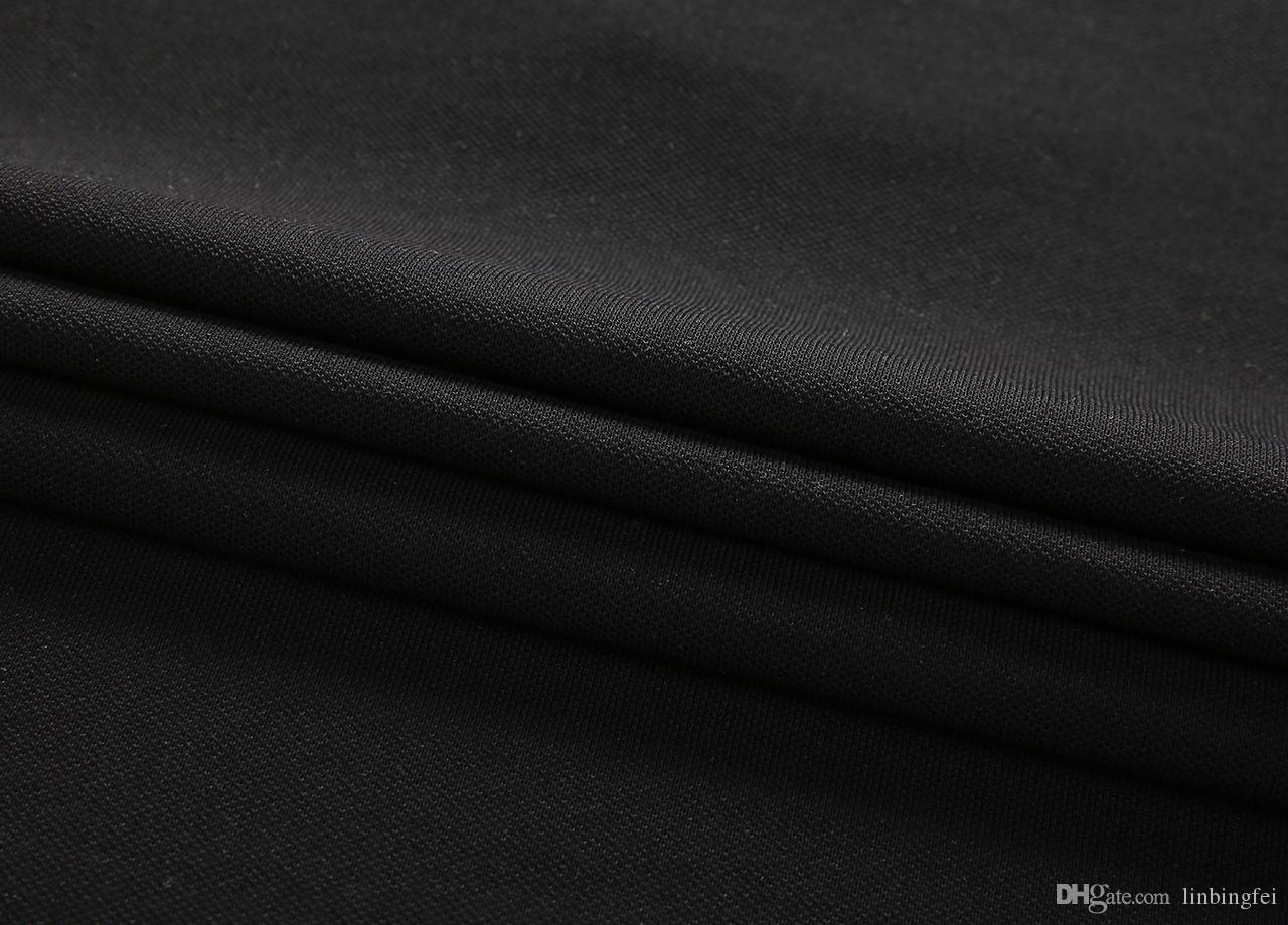 2020 beiläufige Art und Weise T-Shirt Männer-T-Shirts Tops Frauen Kleidung Rundkragen T-Shirts Mann-Sommer-Kurzarm schwarz weißer T-stück