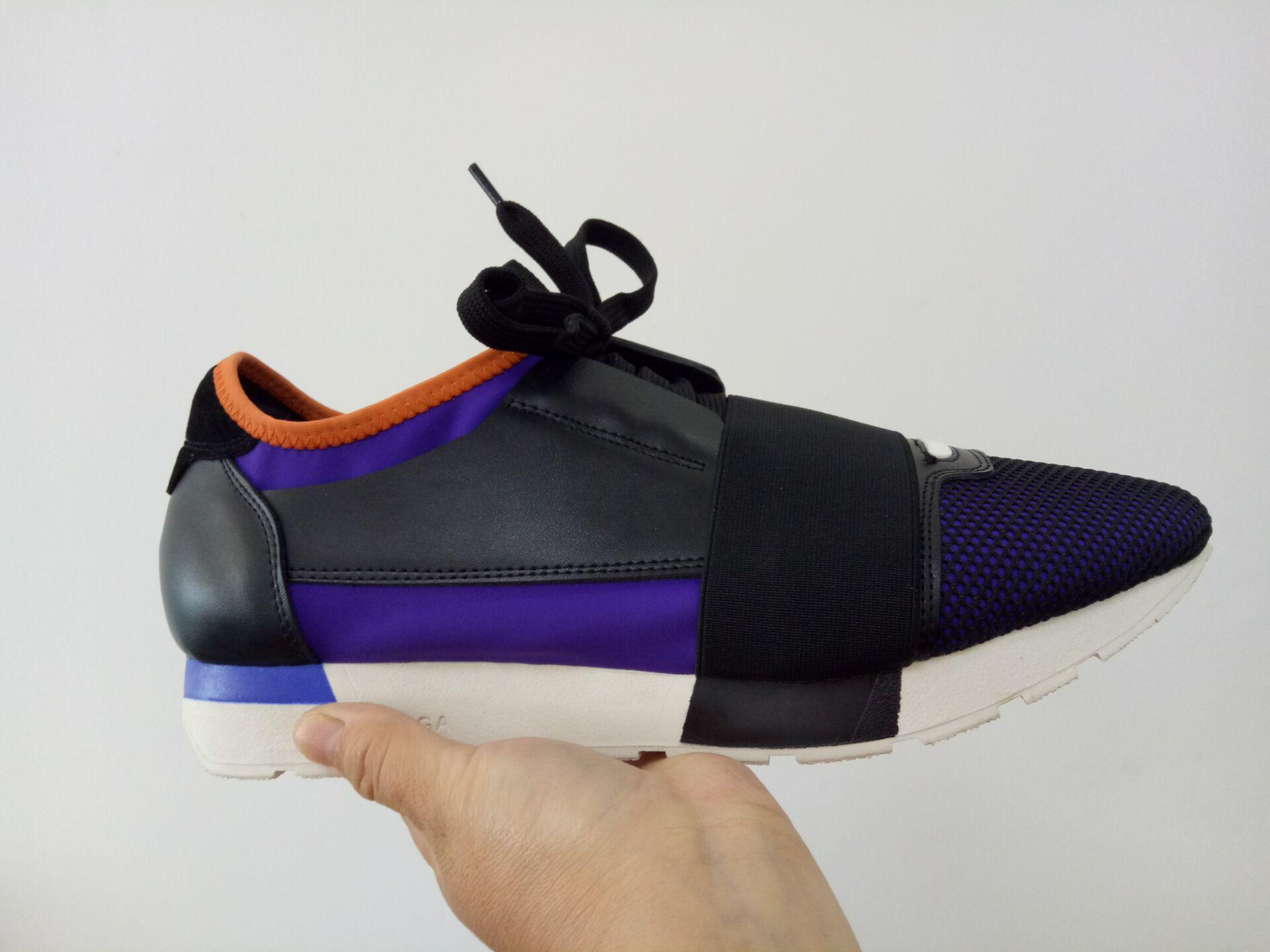 Vendere a buon mercato di alta qualità della moda di Parigi pattini casuali Kanye West Uomo Donna Fashion Low-Top Sneakers progettista del cuoio genuino T18 libera il trasporto