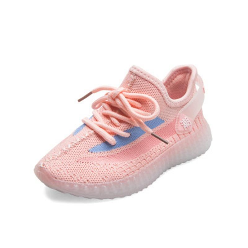 2020 Kanye West V2 True Form Infant Hyperspace Kids Running Shoes Clay Fashion Toddler Trainers Big Small Boy Girls Children Toddler Snea #60