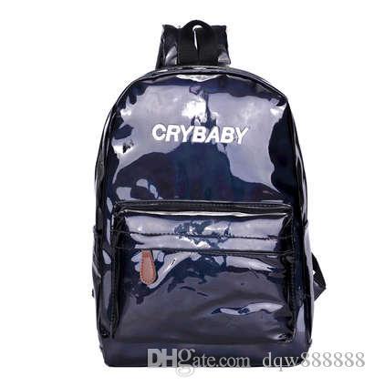 Европа и США сеть красный весна и лето новый лазерный рюкзак Гонконг сумка большой емкости студенческая сумка блестящий случайный BAC
