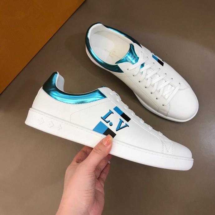 2020 Scarpe di lusso delle donne degli uomini di trasporto di cuoio delle scarpe da tennis del Mens di marca delle scarpe da tennis degli uomini di marca di modo falt sneaker rx320050401