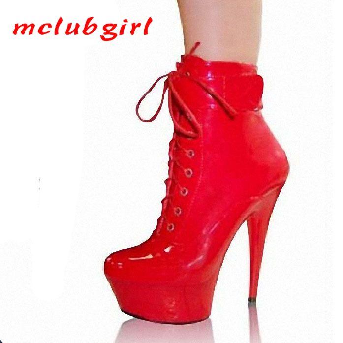 Mclubgirl ночной клуб женские сапоги сексуальные римские низкие короткие сапоги 15 см супер высокие каблуки вода голая летняя липа