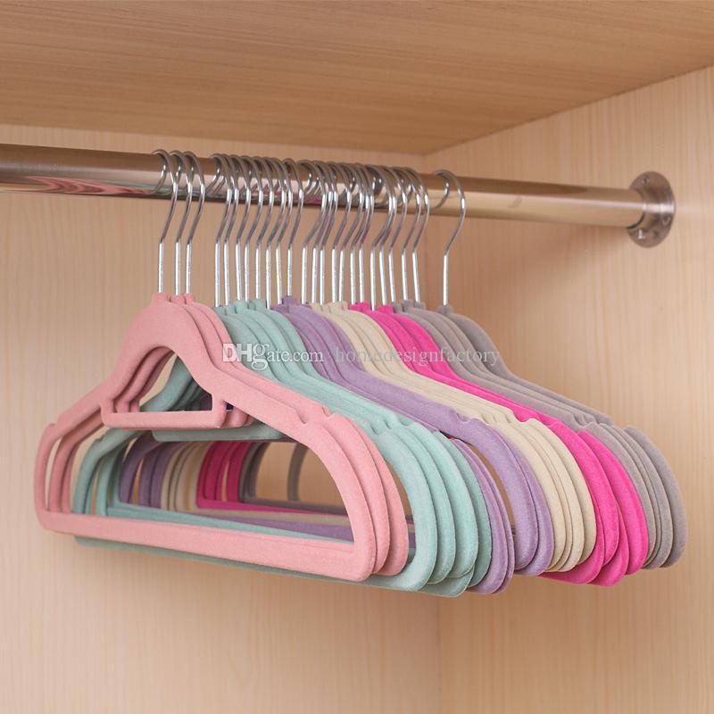 비 슬립 울트라 얇은 옷걸이 도매 풀어 옷걸이 휴대용 건조 랙 행거 홈 의류 주최자