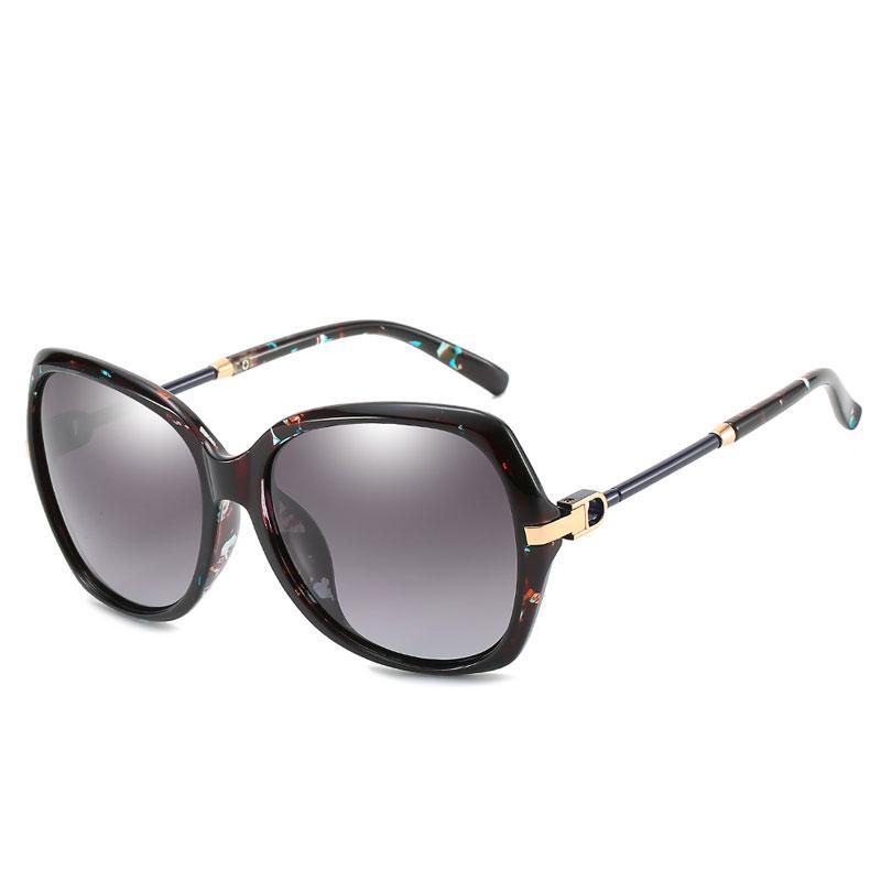 Yeni high-end bayanlar güneş gözlüğü Avrupa ve Amerika Birleşik Devletleri high-end güneş gözlüğü sınır ötesi patlama modelleri polarize lensler UV güneş gözlüğü