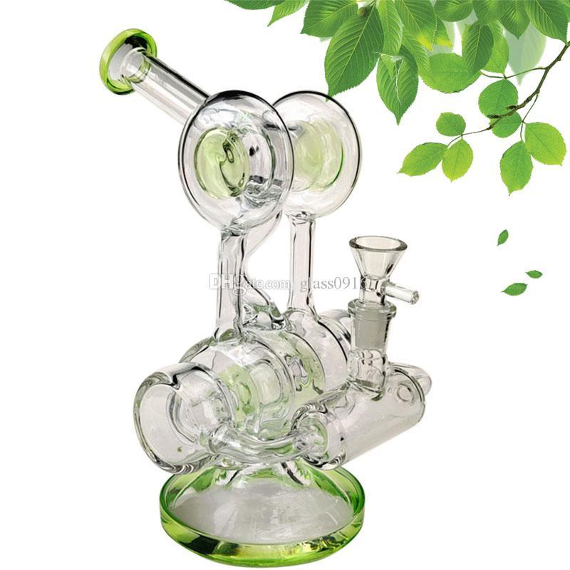 dab rig ash catcher glass water pipe handmade high borosilicate bong glass bowl 14.5mm female joint bubbler
