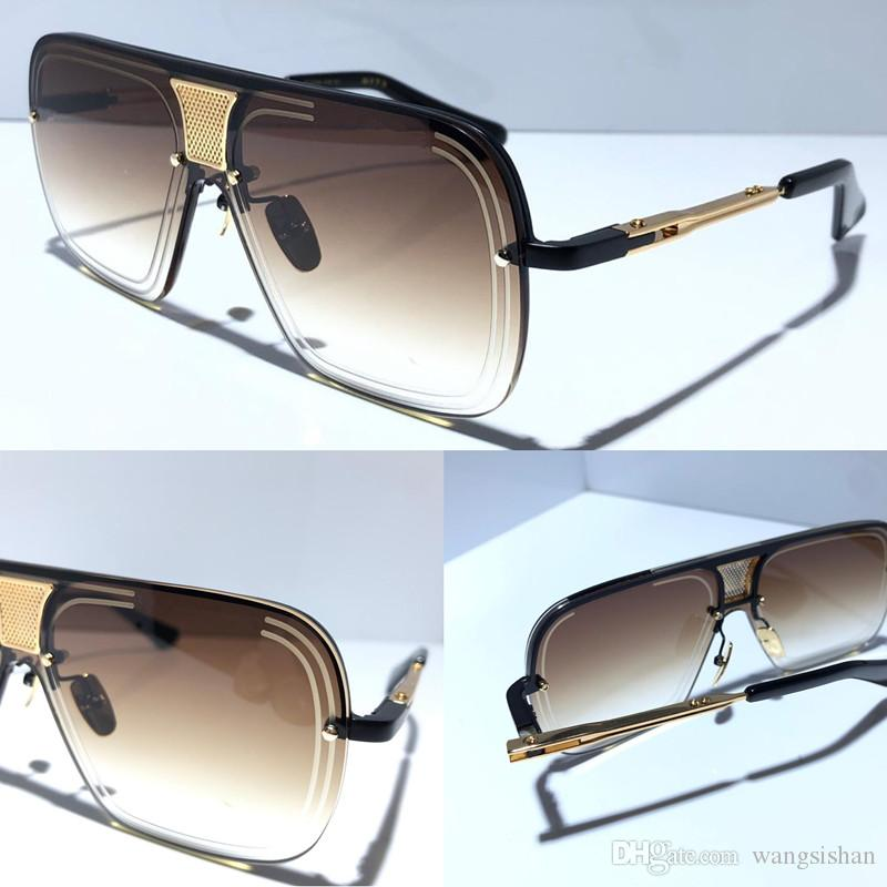 جديد النظارات الشمسية الرجال معدن تصميم الرجعية النظارات الشمسية الاسلوب المناسب نصف مربع إطار الأشعة فوق البنفسجية 400 عدسة حماية الهواء الطلق النظارات التحمل 78