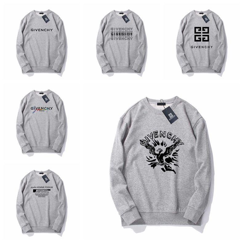 Givenchy Brand New 2019 Mens Женщины Марка Конструкторы Письмо Печать Толстовка Hip Hop Толстовка Casual Male капюшон Пуловер Перемычка # 29873