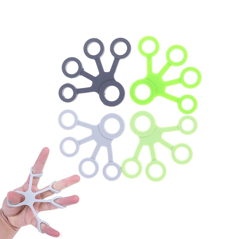Silicone Finger Gripper Fitness Equipment Silicon Hand Gripper Strength Hand Grip Finger Trainer Forearm Hand Exerciser Tools