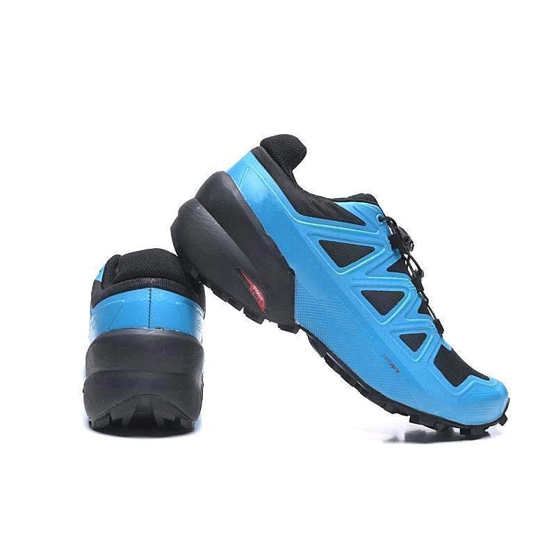 Envío libre al por mayor Nueva Nueva Zapatillas Speedcross 5 4 3 cs zapatos hombres mujeres caminando Ourdoor del deporte atlético Size40-46 GGGL-2