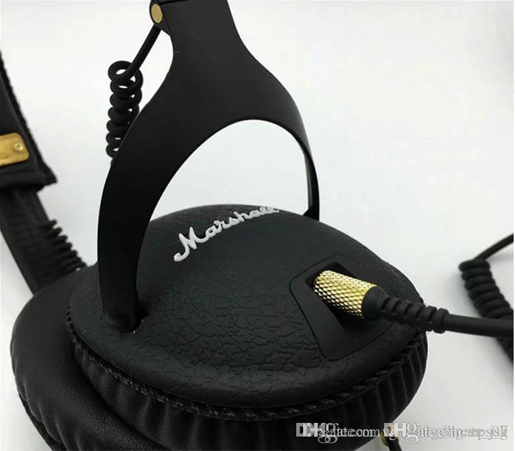 Casque d'écoute avec microphone Marshall Deep Bass DJ Salut-Fi casque filaire 3,55 mm voiture mode casque casque 006