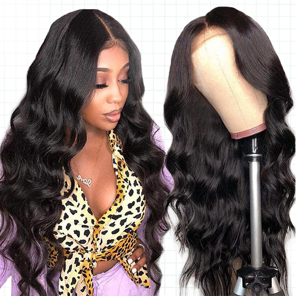 Silk Base Wig Lace Front Human Hair Wigs Peruvia Body Wave Lace Front Wig For Black Women Remy Dorisy Hair