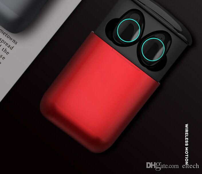 Earphone mini True Wireless Earphone for Phone mic Bluetooth Earbuds Headset with charging box